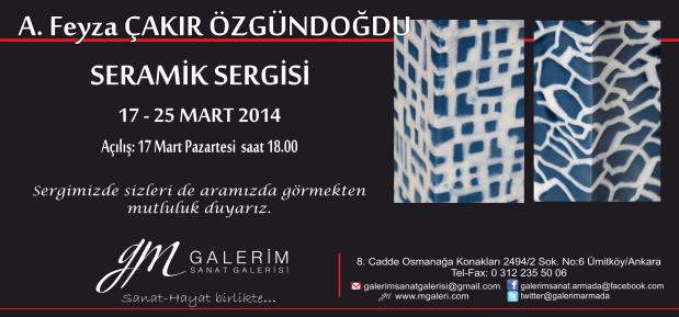 Solo exhibition 2014, Ankara