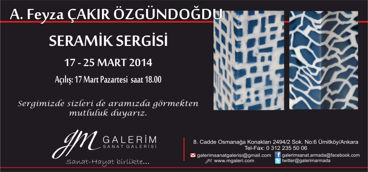 Solo exhibition 2014, Ankara